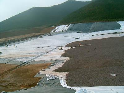 GCL, landfill, Voltex, Elcoseal, Bentofix,Bentoseal, Geosynthetic Clay Liner