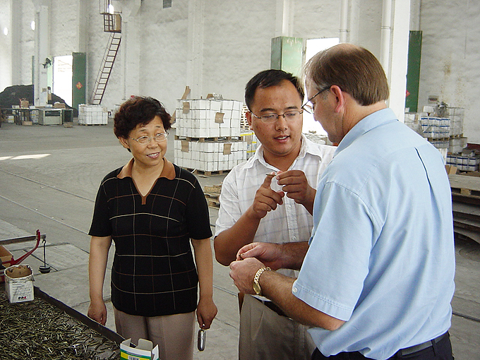Factory visit by Jim Bennett to progress the design and manufacture of fasteners